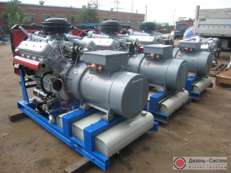 фото генератора 100 кВт БГ 100 открытого типа