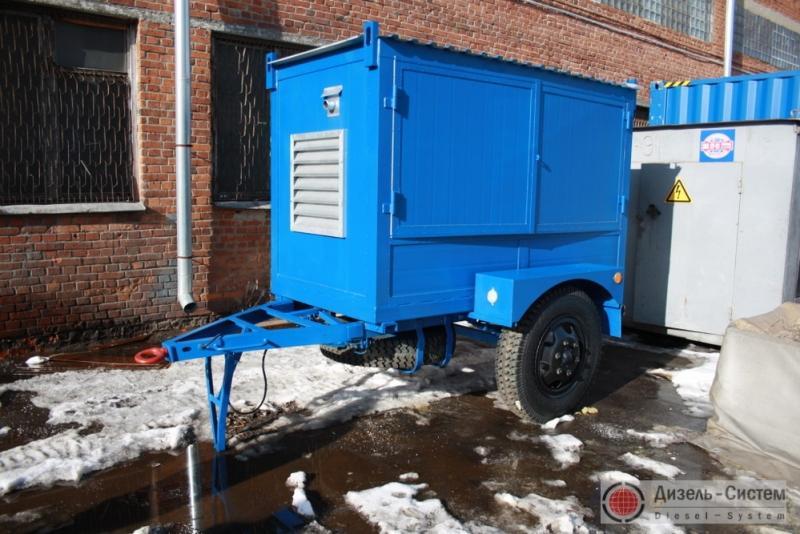 ЭД30-Т400-1РП (ЭД30-Т400-2РП) генератор 30 кВт под капотом на шасси