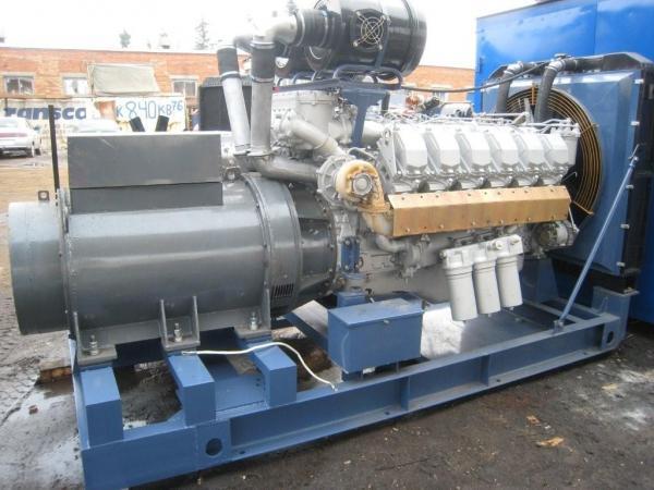 АД400С-Т400-РМ в открытом исполнении с ЯМЗ-8503.10