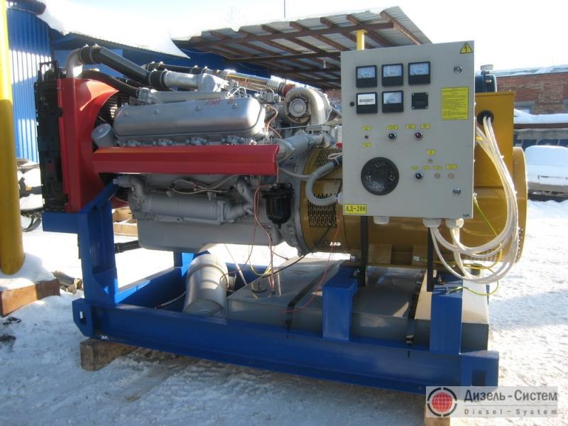 АД-200С-Т400-1РМ2 (АД-200-Т400-1РМ2) генератор 200 кВт с двигателем ЯМЗ