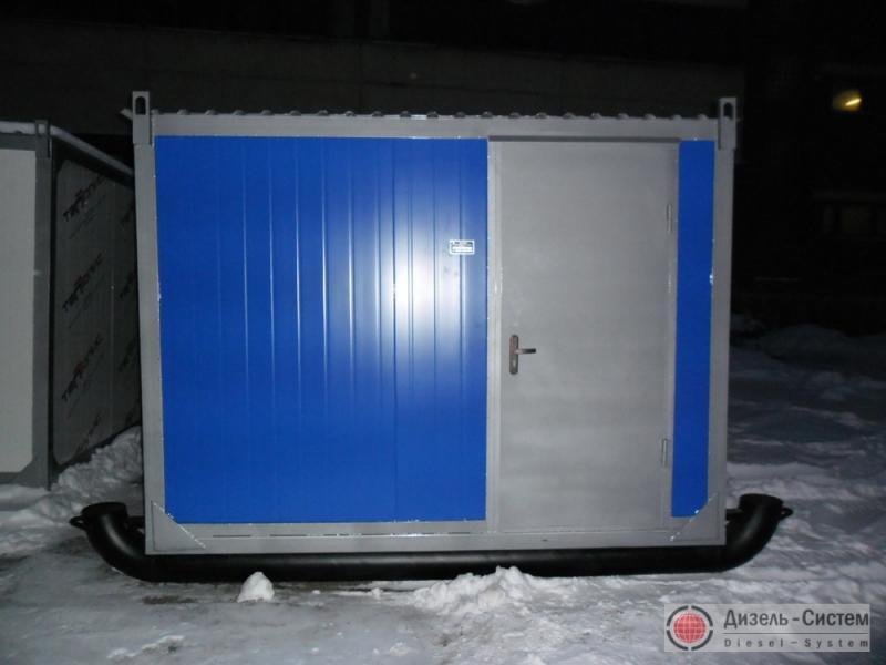 АД 60 генератор 60 кВт в блок-контейнере на санях