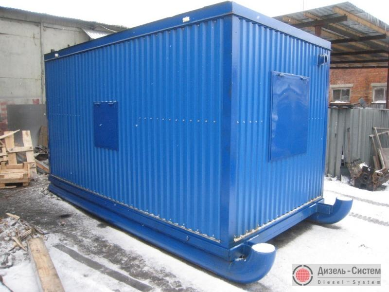 АД 60 генератор 60 кВт в блок-контейнере на салазках