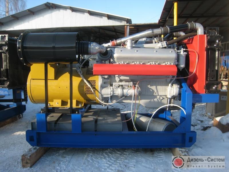 АД-250С-Т400-1РМ2 (АД-250-Т400-1РЯ) генератор 250 кВт на раме открытого исполнения