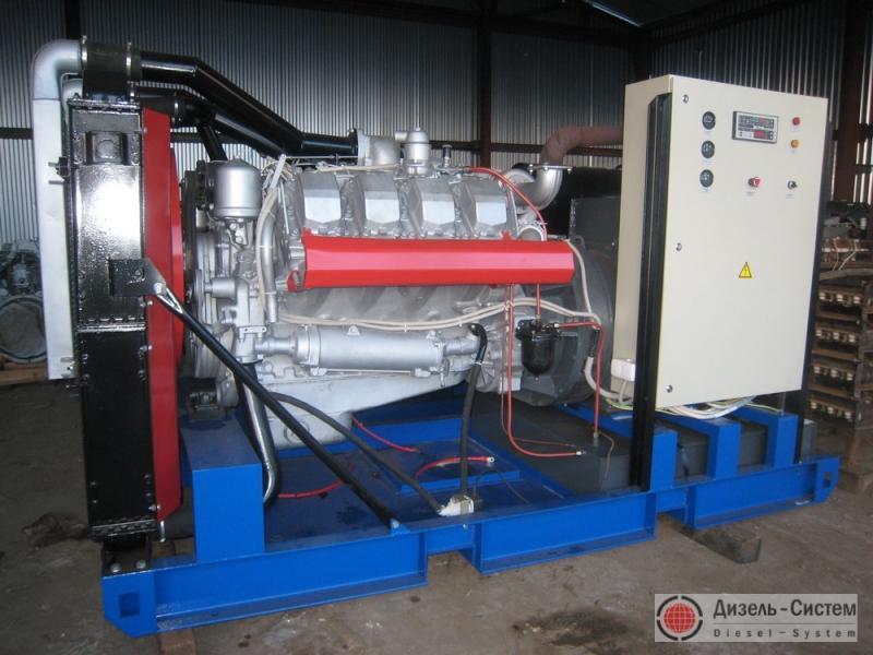 АД-300С-Т400-1РМ2 (АД-300-Т400-1РЯ) генератор 300 кВт на раме открытого исполнения