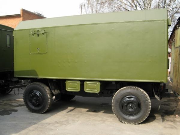 Дизель-генератор 315 кВт в кузов-фургоне (кунг)