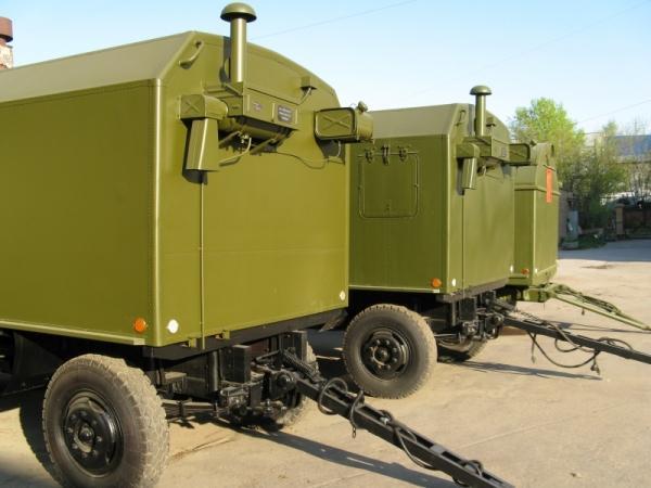 Дизельная электростанция 315 кВт в кунге (кузов-фургон)