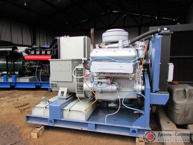 АД-60-Т400 ЯМЗ генератор 60 кВт открытого типа