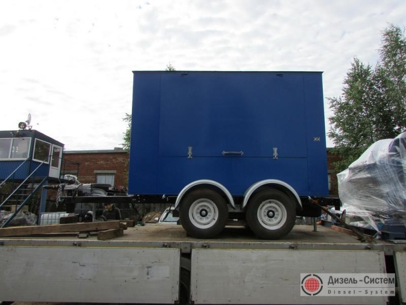 АД-100-Т400-1РЯ генератор 100 кВт на шасси прицепа