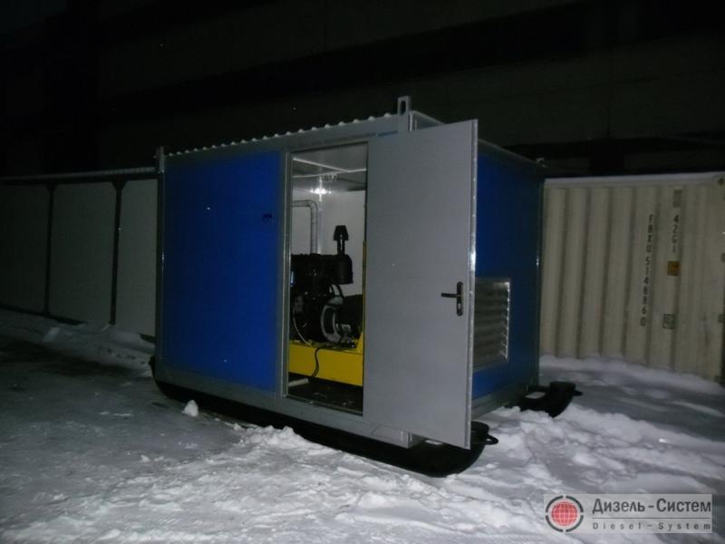 АД-60-Т400 генератор 60 кВт в контейнере на санях