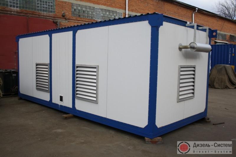 фото генератора 50 кВт LSA 43.2 L8 Leroy Somer в утепленном контейнере