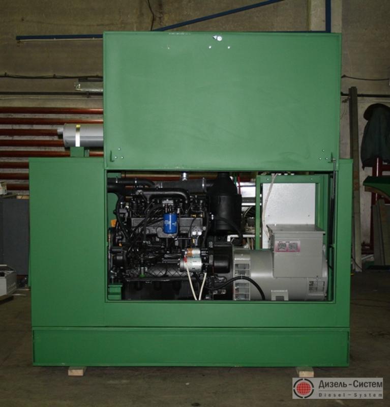 Фото дизельного электроагрегата АД-50С-Т400 в капоте