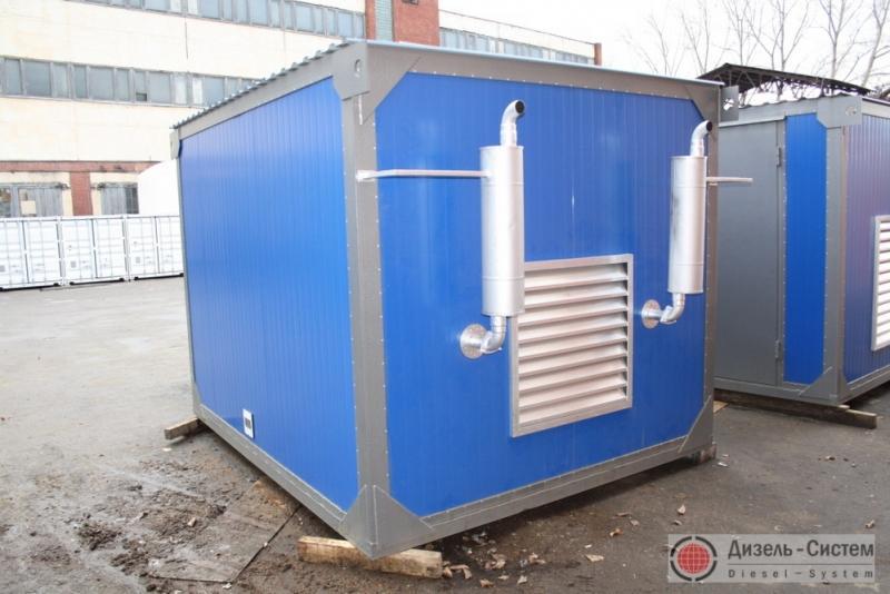 Фото станции ДЭС-100 в контейнере