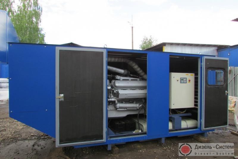 Фото электроагрегата дизельного АД120-Т400 в капоте