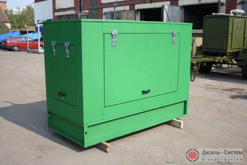 Фото дизель-генераторной установки ДГУ-12 в капоте