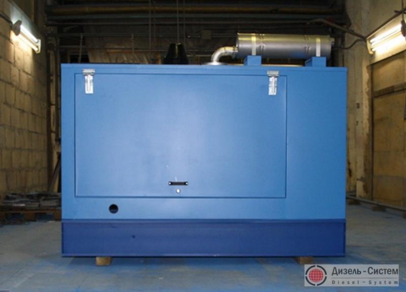 Фото автоматизированной электростанции 220 кВт в капоте