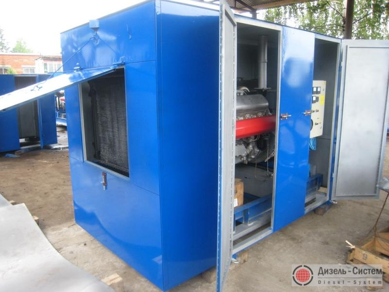 АД-75С-Т400-1РГХП (АД-75-Т400-1РГХП) генератор 75 кВт в погодозащитном капоте с подогревателем ПЖД