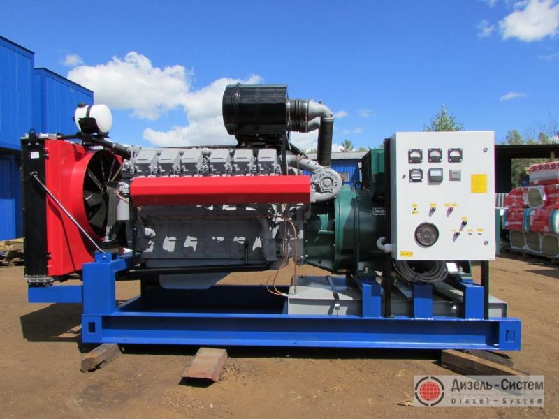 Фото и обозначение электрогенератора АД-400С-Т400-Р
