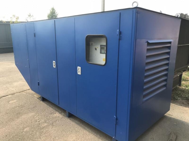 фото генератора 60 кВт Linz в кожухе
