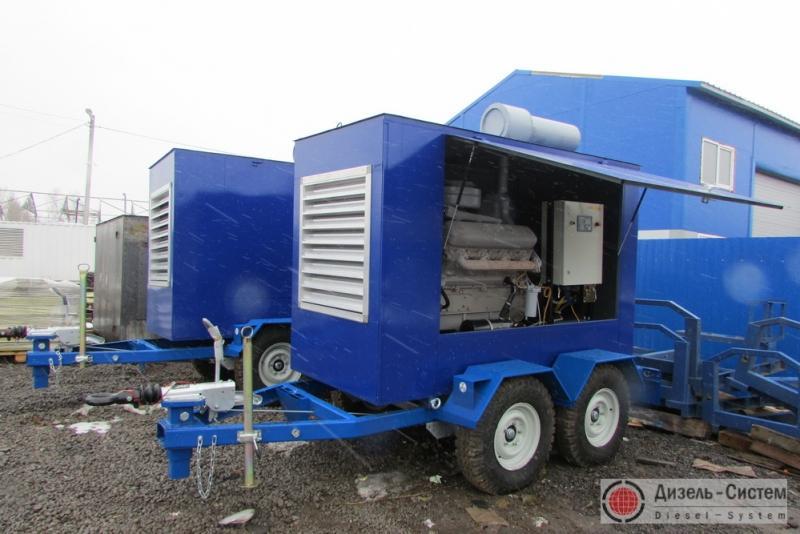 ЭСД-200-Т400-1РК генератор 200 кВт на шасси прицепа