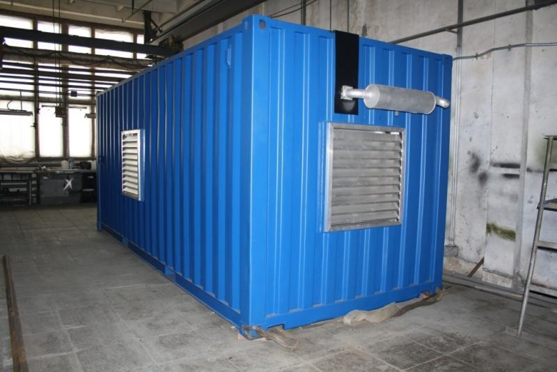 АД-400С-Т400 в блок контейнере