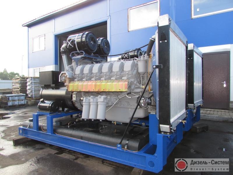 АД-350С-Т400-2РМ2 (АД-350-Т400-2РЯ) генератор 350 кВт открытого исполнения на раме