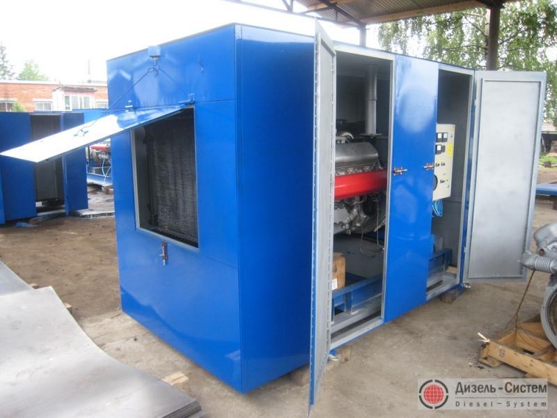 Фото электрогенератора дизельного АД-200С-Т400-1РМ в капоте
