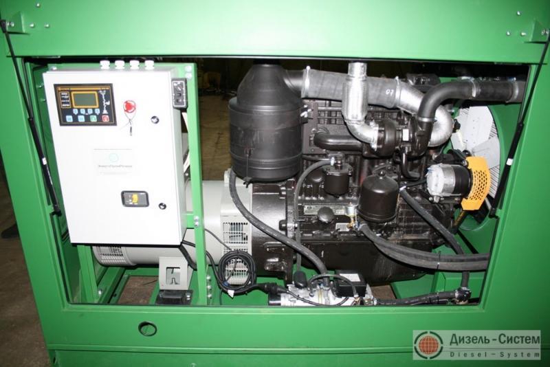 Фото дизельной электроустановки ДЭУ-50 в капоте