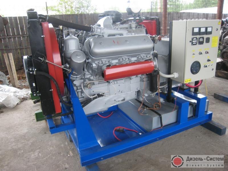АД-80С-Т400 ЯМЗ генератор 80 кВт на раме открытого исполнения