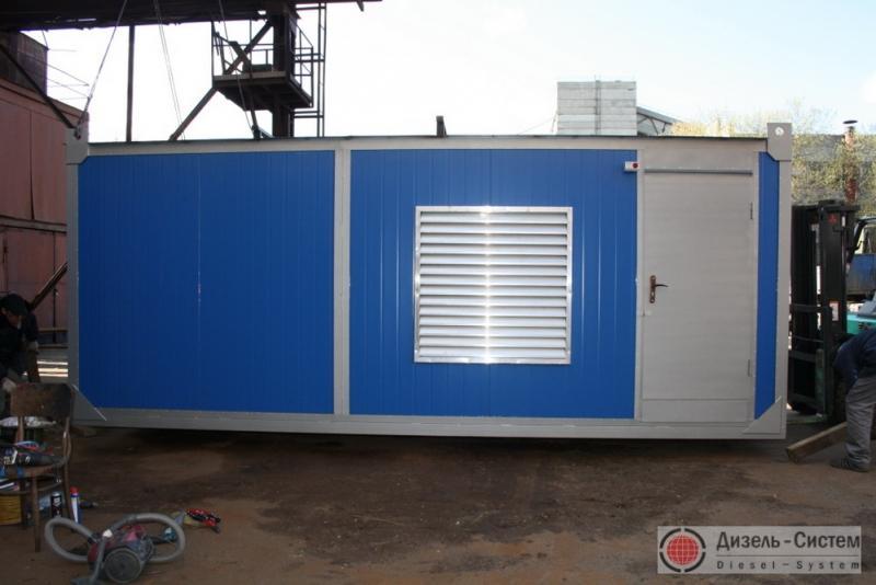 ЭД350-Т400-1РН-Ш (ЭД350-Т400-2РН-Ш) электростанция 350 кВт в специализированном шумоизоляционном блок-контейнере