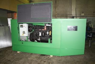 АД100С-Т400-РМ в шумозащитном кожухе с ММЗ Д-266.4