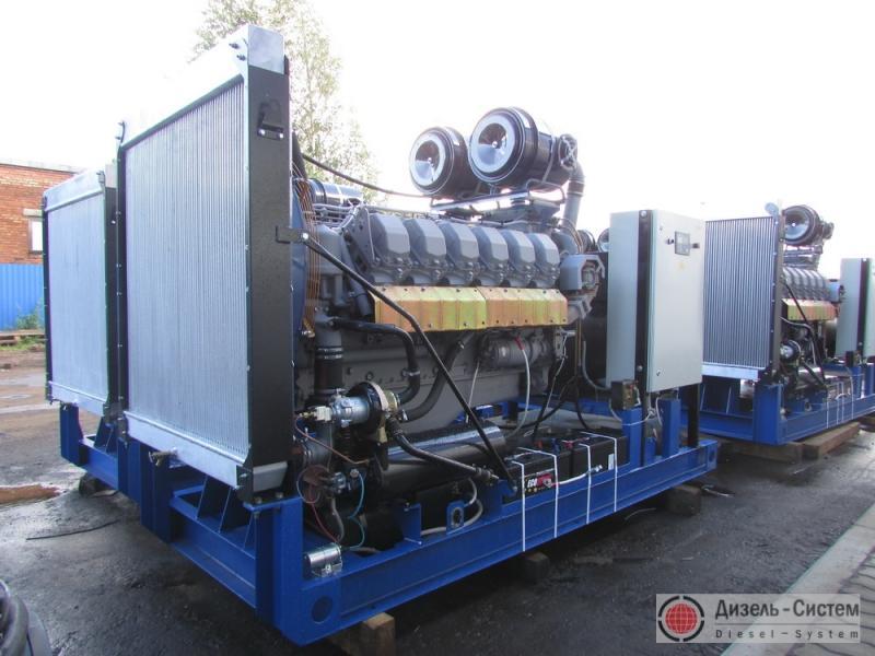 фото генератора 350 кВт LSA 47.2 S5 Leroy Somer открытого типа