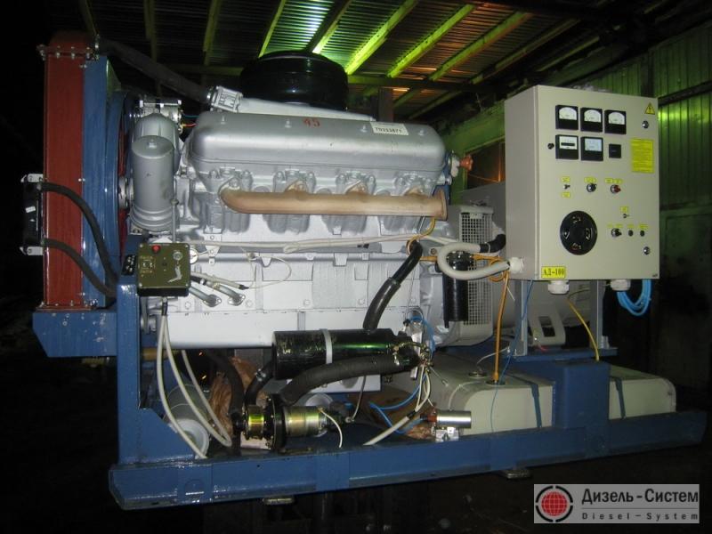 фото генератора 100 кВт LSA 44.2 S7 Leroy Somer открытого типа