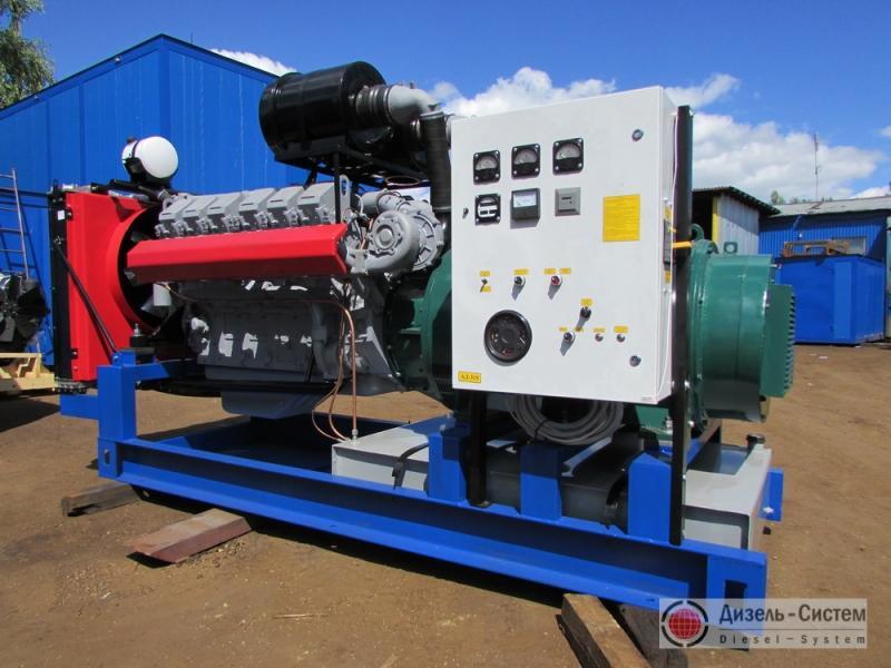 АД-350С-Т400-1Р (АД-350-Т400-1Р) генератор 350 кВт открытого типа