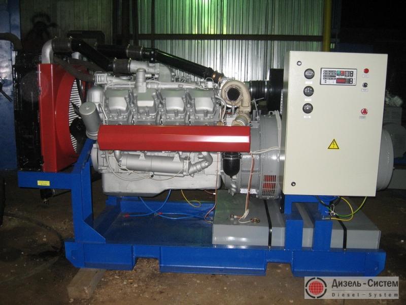 АД-250С-Т400-2РМ2 (АД-250-Т400-2РЯ) генератор 250 кВт открытого исполнения на раме