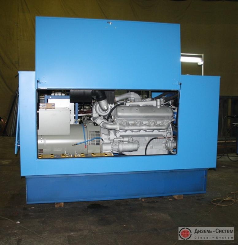 Фото дизель-генераторной установки ДГУ-120 в капоте