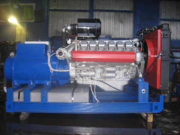 АД315С-Т400-РМ открытого типа с ЯМЗ-240НМ2