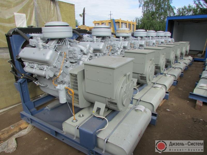 фото генератора 50 кВт LSA 43.2 L8 Leroy Somer открытого типа