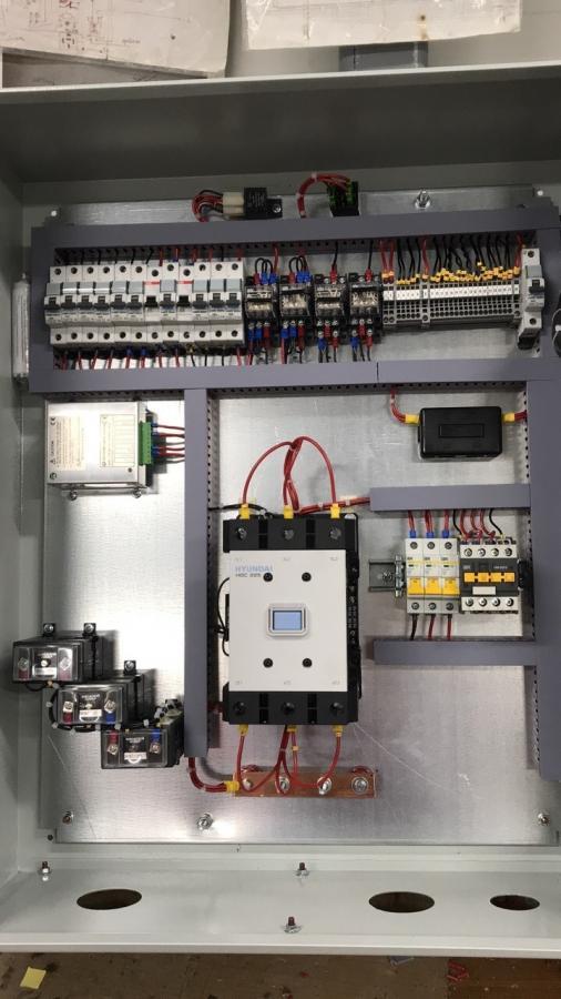Системы автоматики управления газопоршневой электростанции 200 кВт