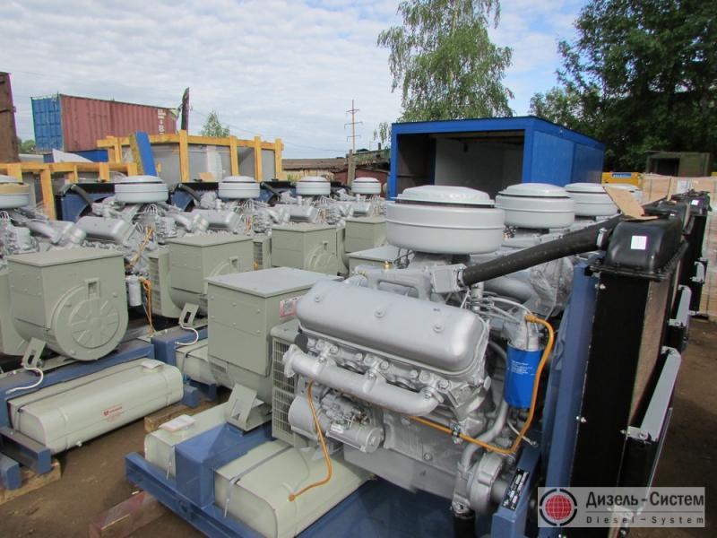 АД-75С-Т400-1РЯ (АД-75С-Т400-2РЯ) ЯМЗ-236М2 генератор 75 кВт