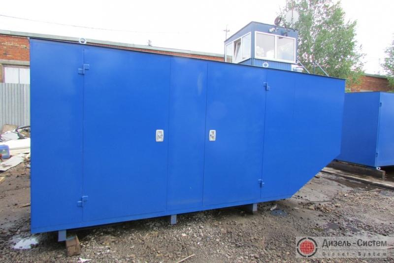 Фото дизель-генераторного агрегата ДГА-200 в капоте