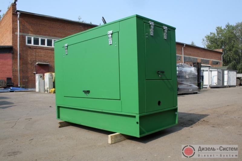 Фото дизель-генераторного агрегата ДГА-16 в капоте