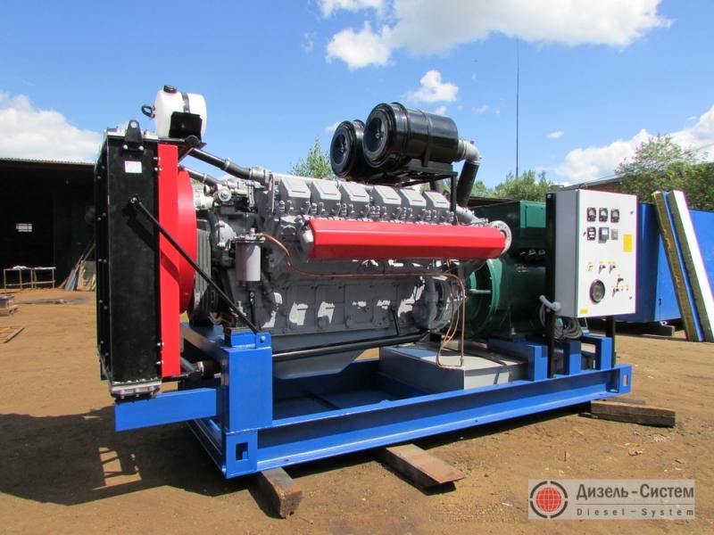 АД-350С-Т400-1РМ2 (АД-350-Т400-1РЯ) генератор 350 кВт на раме открытого исполнения