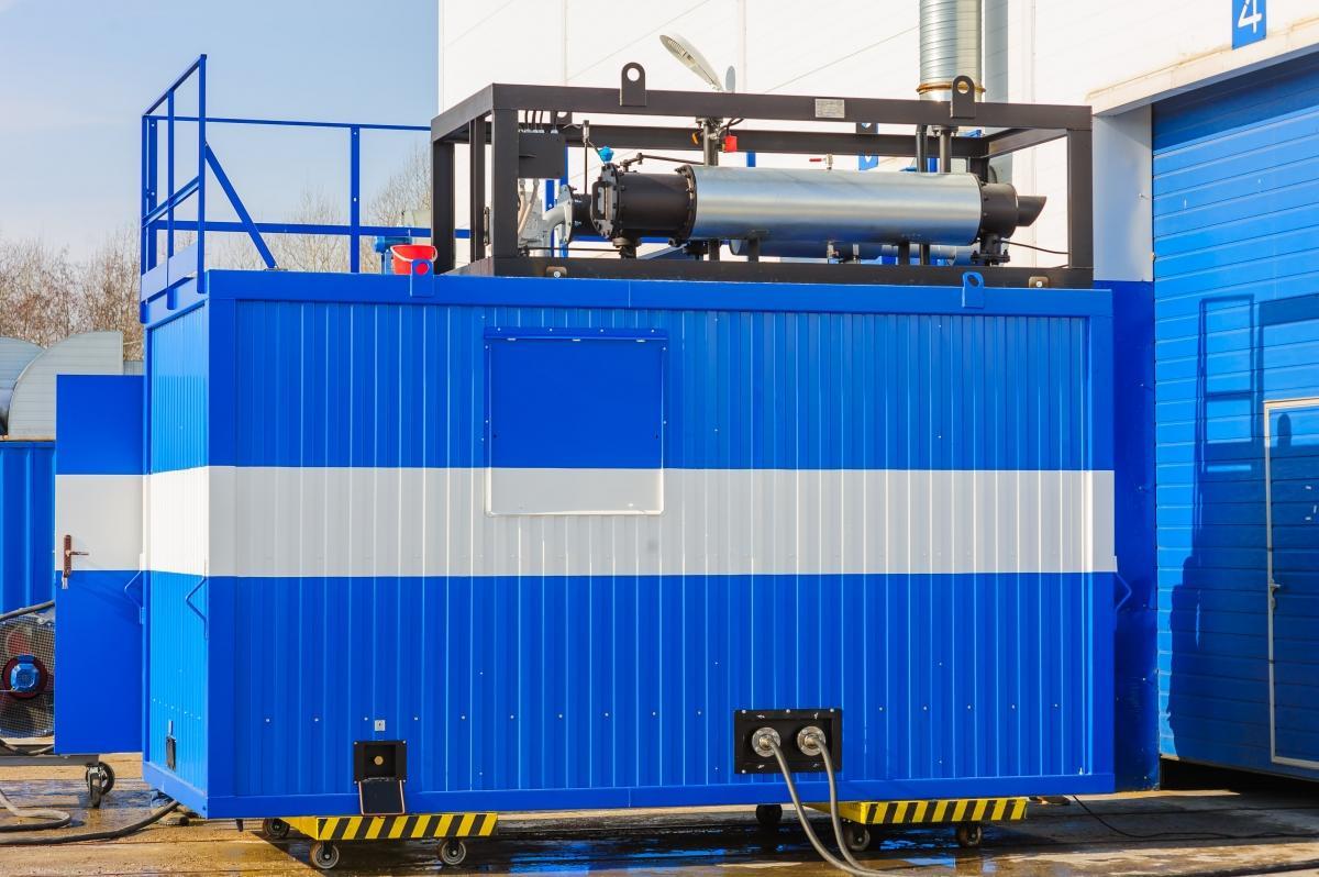 Газопоршневые (газовые) электростанции 350 кВт контейнерного типа