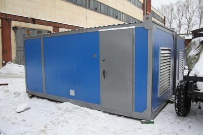 АД-400-Т400 в контейнере