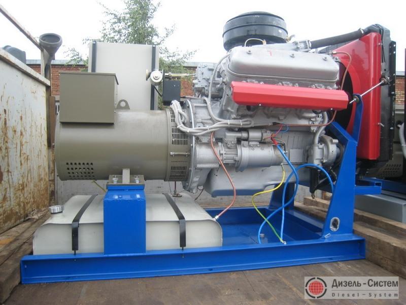 АД-80-Т400 генератор 80 кВт открытого исполнения на раме