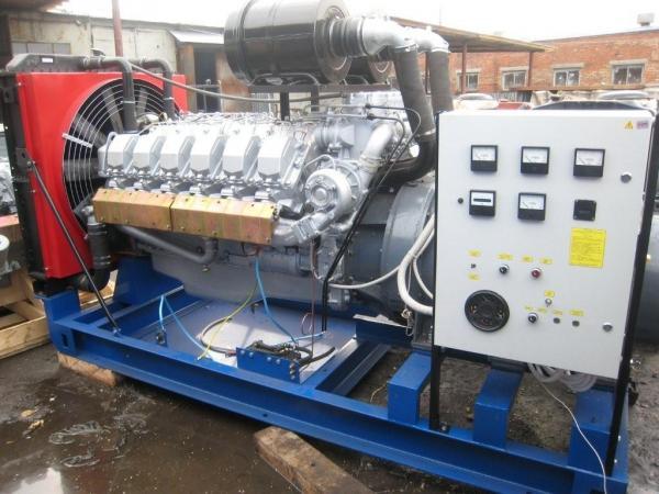 АД400С-Т400-РМ открытого типа с ЯМЗ-8503.10