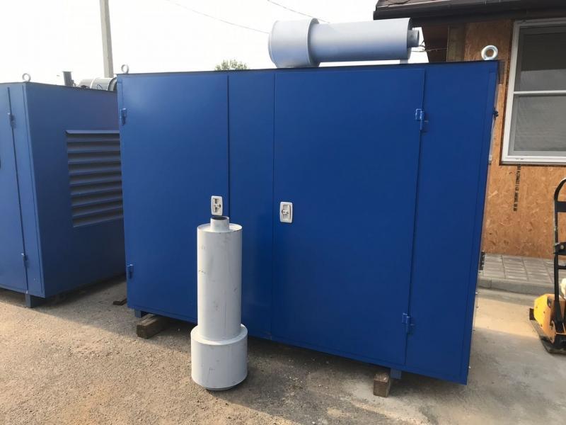 фото генератора 60 кВт Marelli в капоте