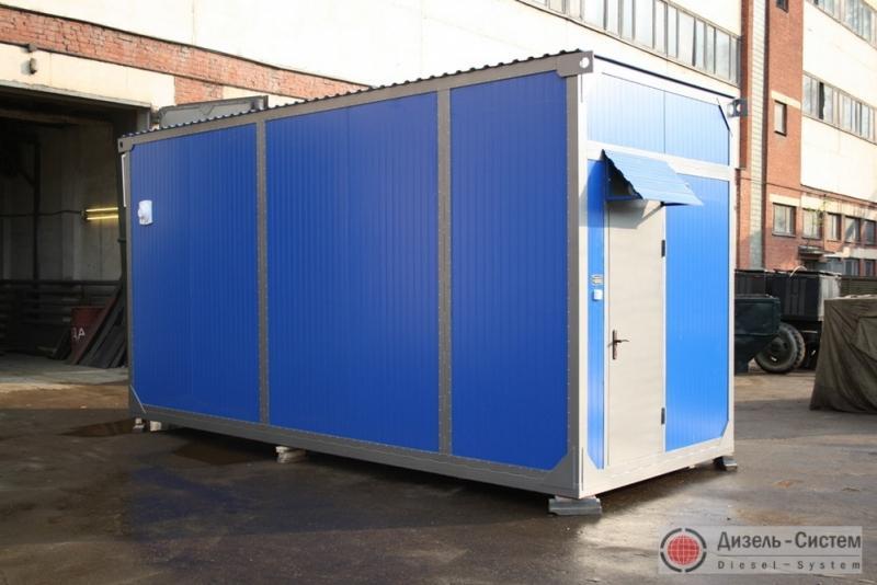 ЭД300-Т400-2РК (ЭД300-Т400-2РН) электростанция 300 кВт в блок-контейнере