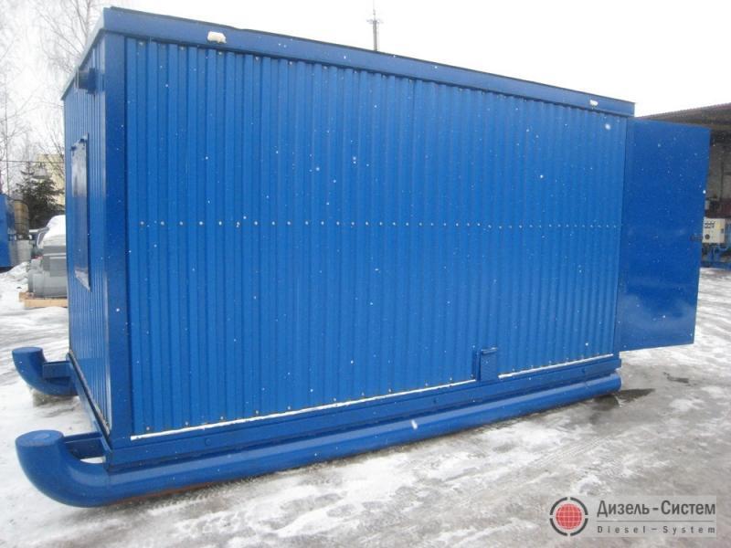 Дизель-генератор 315 кВт в контейнере на санях, на салазках, полозьях