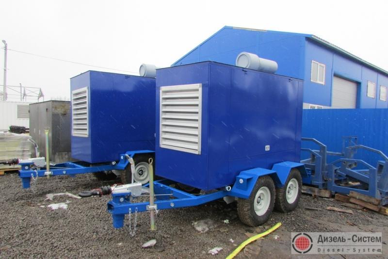 Дизельный генератор 150 кВт на шасси (передвижные генераторы 150 кВт)